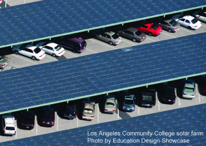 LA Solar Parking Lot Article Caption