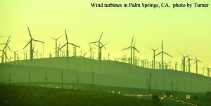Windmills in Palm Springs, CA Article Caption