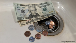Money Down the Drain Article Caption